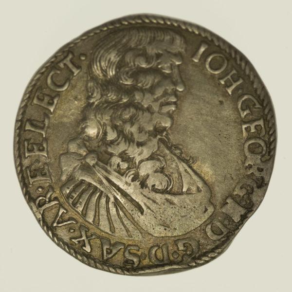 altdeutschland-deutsche-silbermuenzen - Sachsen Johann Georg II. 30 Kreuzer 1669