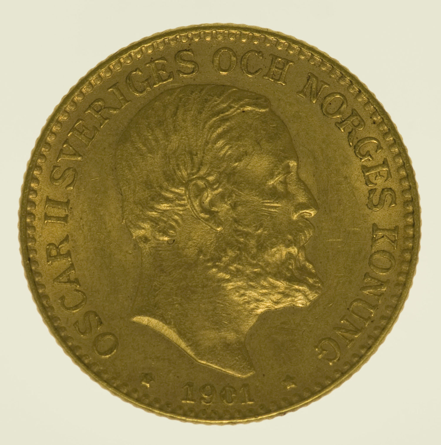 schweden - Schweden Oskar II. 10 Kronen 1901
