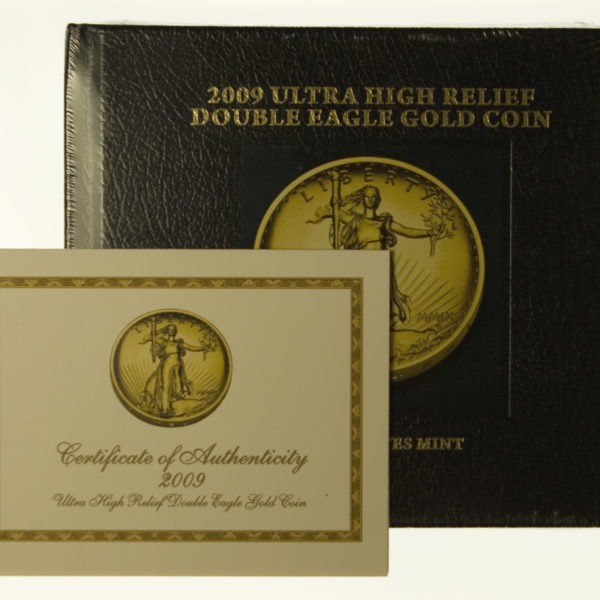 usa - USA Double Eagle Ultra High Relief 2009