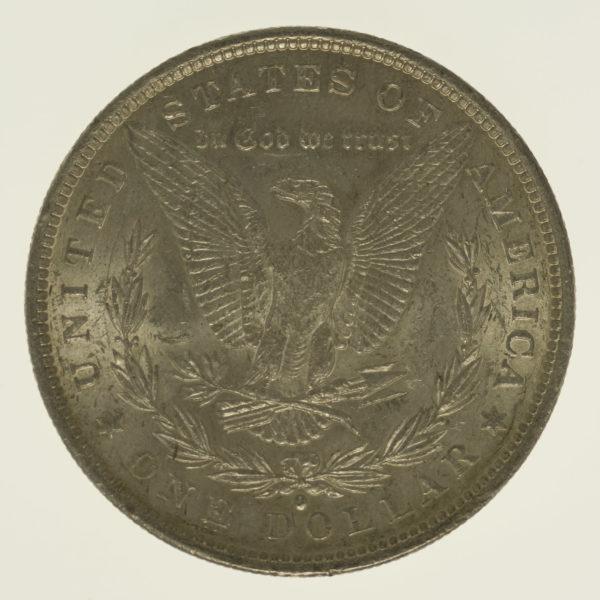 usa-silbermuenzen-uebrige-welt - USA Morgan Dollar 1884 O