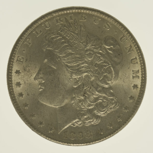 usa-silbermuenzen-uebrige-welt - USA Morgan Dollar 1898