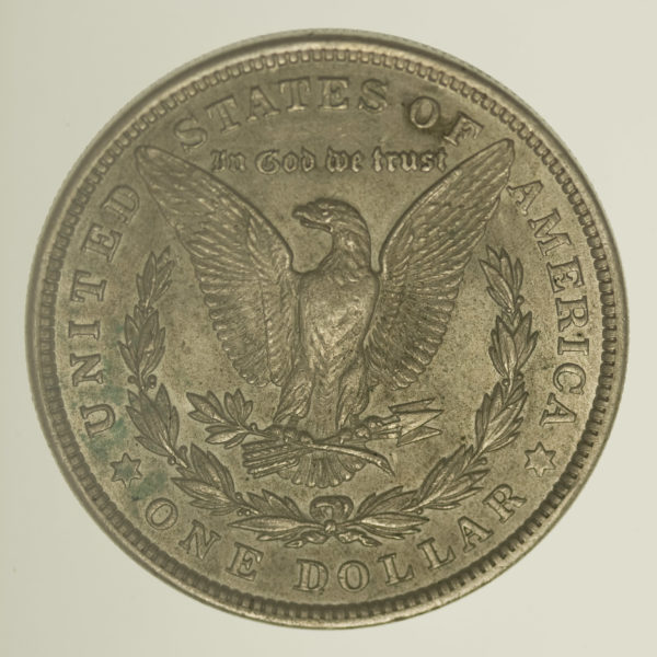 usa-silbermuenzen-uebrige-welt - USA Morgan Dollar 1921