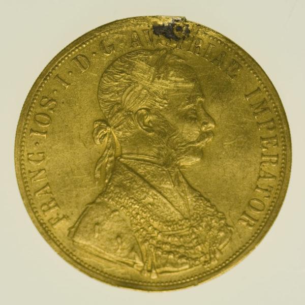 oesterreich - Österreich Kaiserreich Franz Joseph I. 4 Dukaten 1913