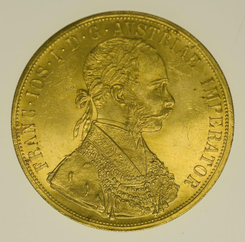 oesterreich - Österreich Kaiserreich Franz Joseph I. 4 Dukaten 1914