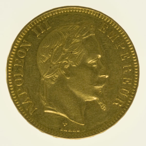 frankreich - Frankreich Napoleon III. 100 Francs 1869 BB