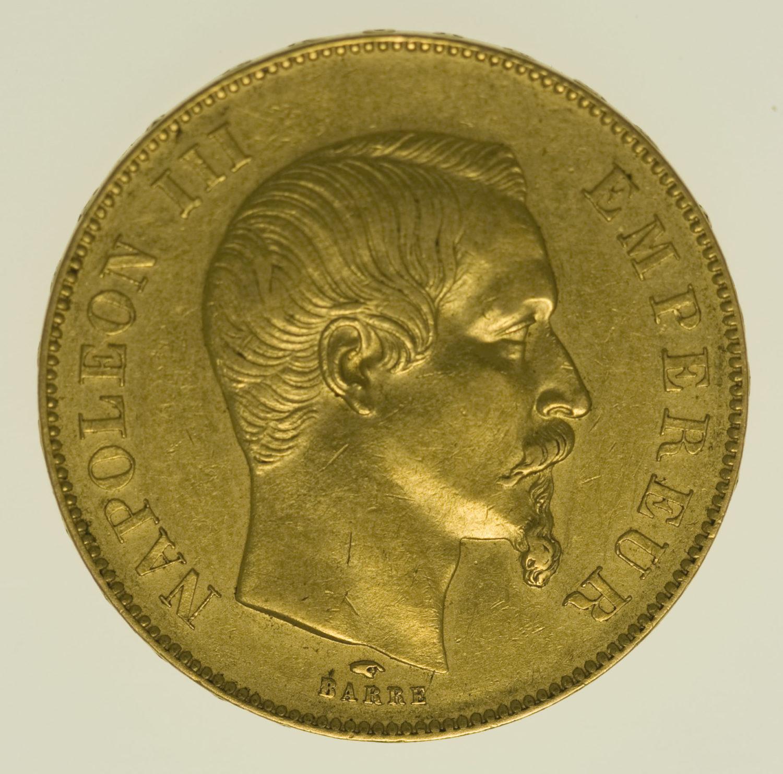 frankreich - Frankreich Napoleon III. 50 Francs 1856 A