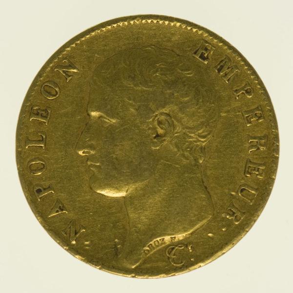 frankreich - Frankreich Napoleon I. 40 Francs 1806 A