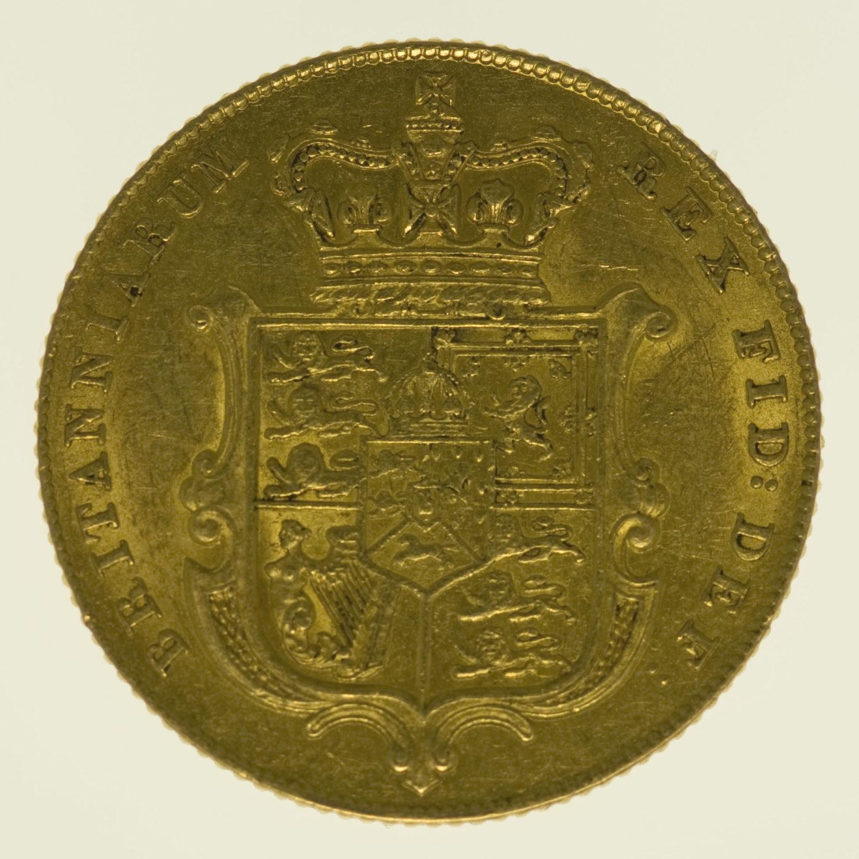 grossbritannien - Großbritannien Georg IV. Sovereign 1826
