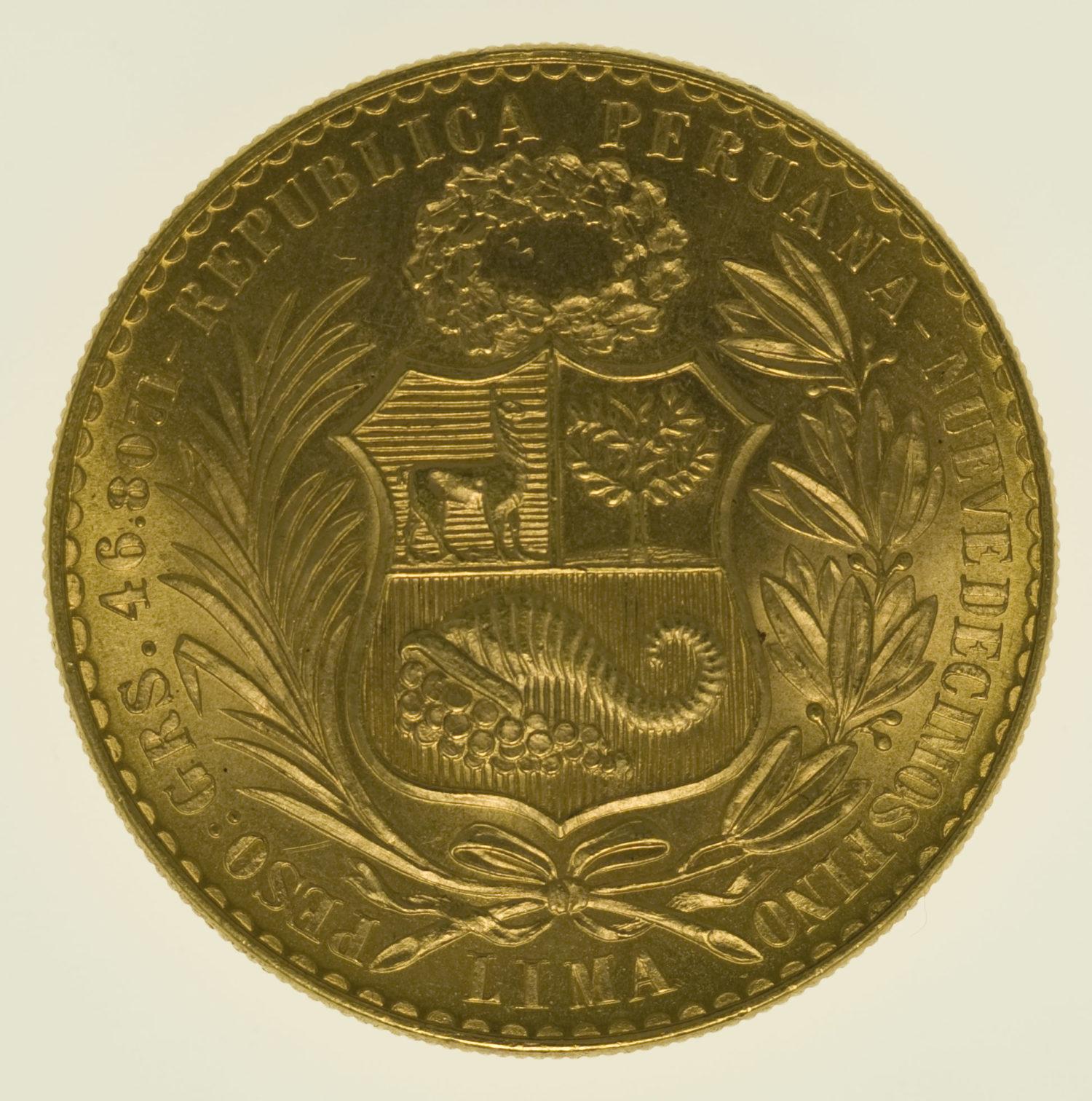 peru - Peru 100 Soles 1960