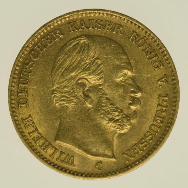 deutsches-kaiserreich-ab-1871 - Preussen Wilhelm I. 5 Mark 1877 C