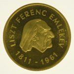 ungarn - Ungarn 500 Forint 1961 Franz Liszt