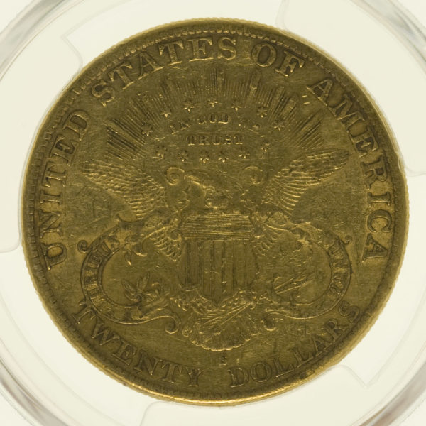 usa - USA 20 Dollars 1900 S Liberty / Kopf