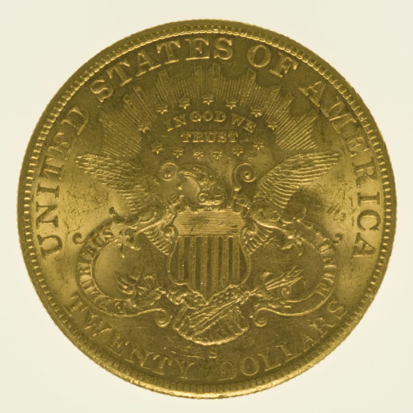 usa - USA 20 Dollars 1902 S Liberty / Kopf