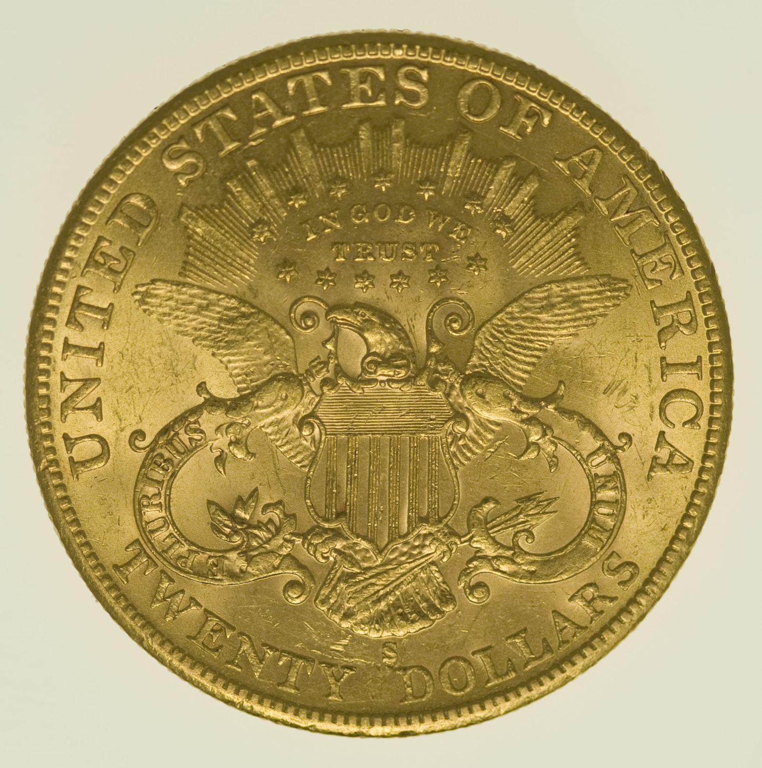 usa - USA 20 Dollars 1902 S Liberty / Kopf