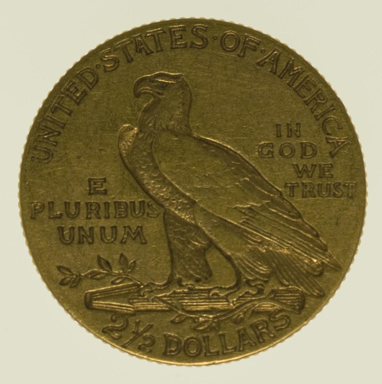 usa - USA 2,5 Dollars 1908 Indianer