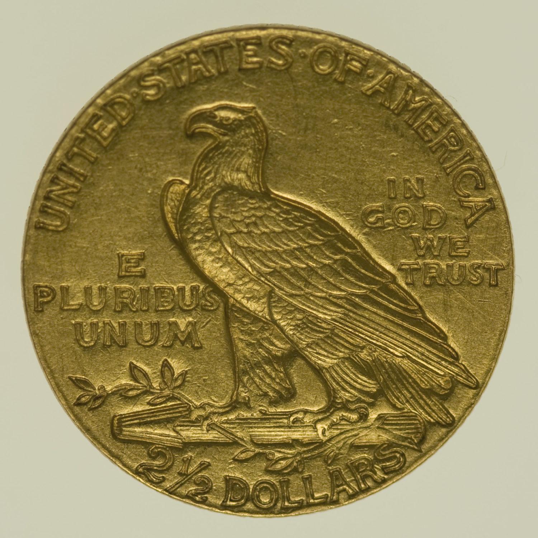 usa - USA 2,5 Dollars 1910 Indianer