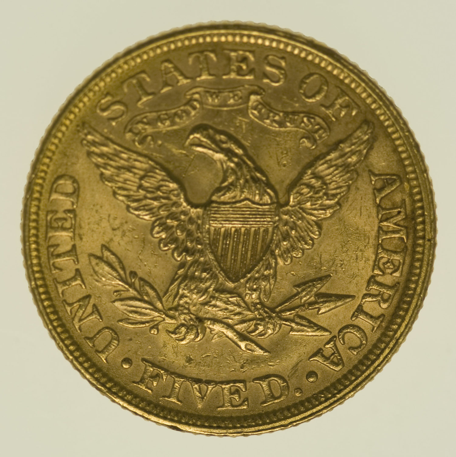 usa - USA 5 Dollars 1894 Liberty / Kopf