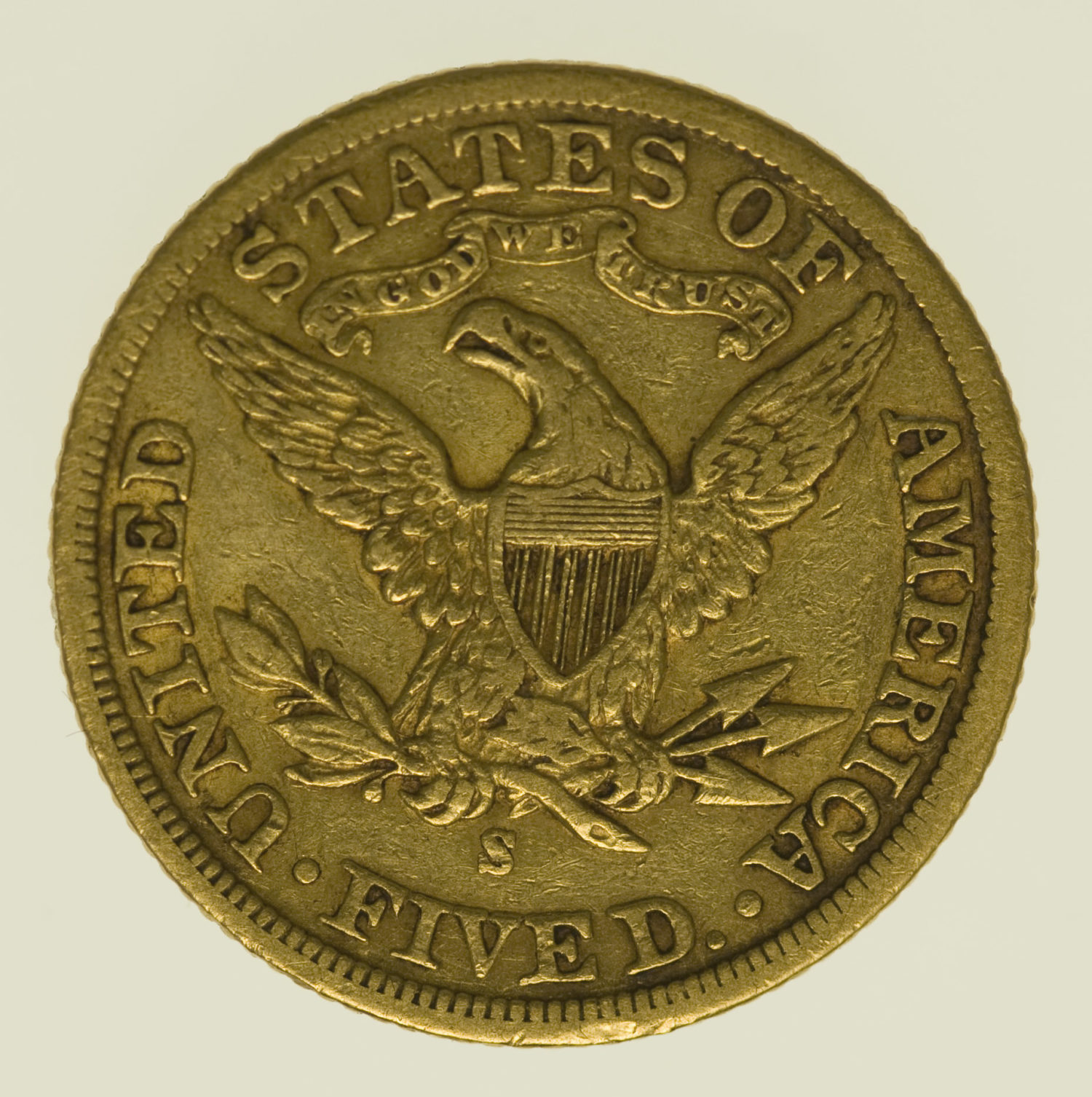 usa - USA 5 Dollars 1901 S Liberty / Kopf