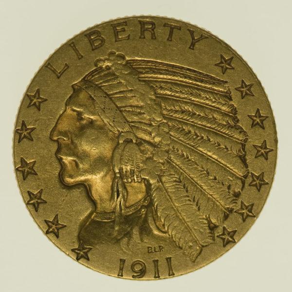 usa - USA 5 Dollars 1911 Indianer