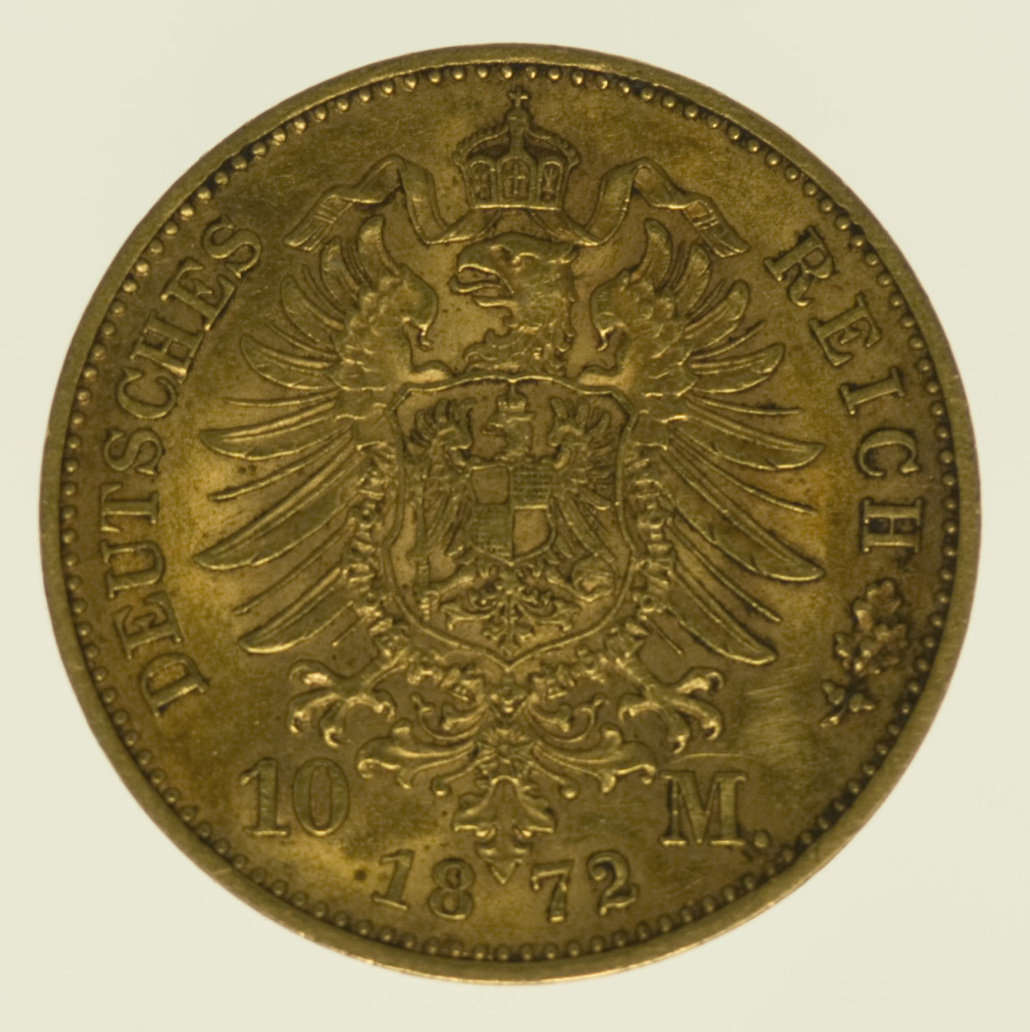 deutsches-kaiserreich-ab-1871 - Württemberg Karl 10 Mark 1872