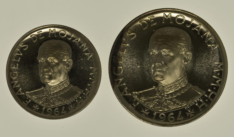 malta - Malta Malteserorden Angelo de Mojana Scudo + 2 Scudi 1964