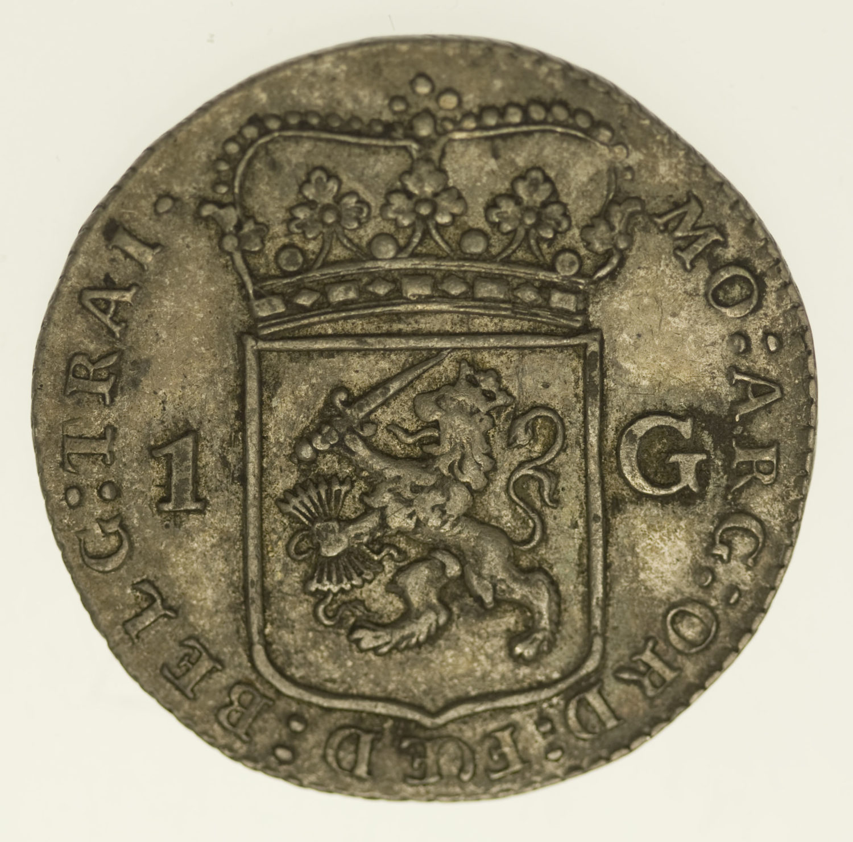 niederlande-silbermuenzen-uebriges-europa - Niederlande Gulden 1791