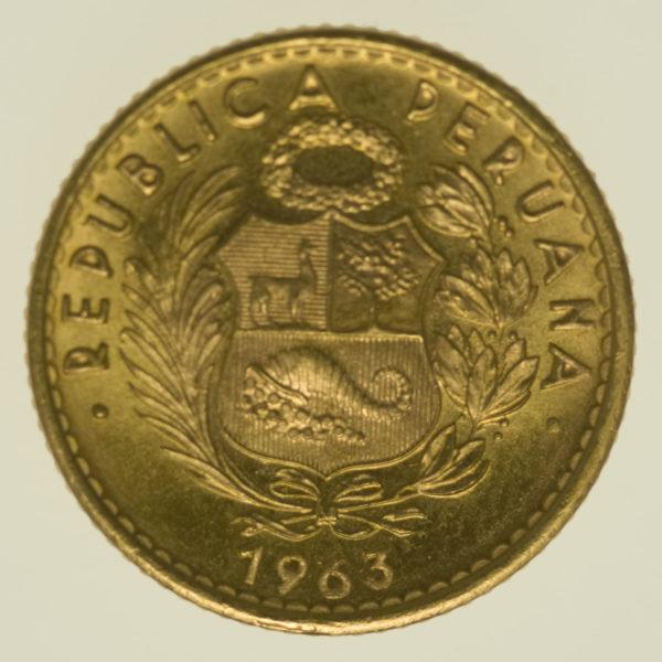 peru - Peru 10 Soles 1963