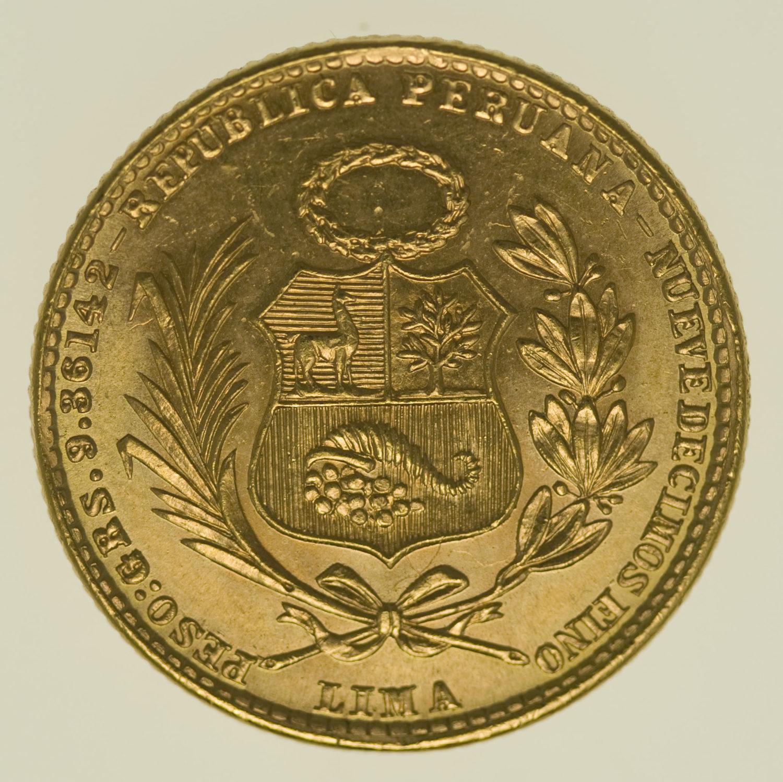 peru - Peru 20 Soles 1960