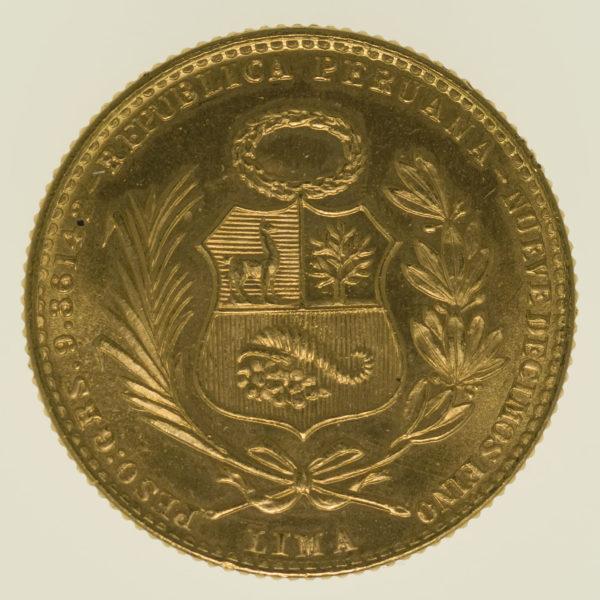 peru - Peru 20 Soles 1965