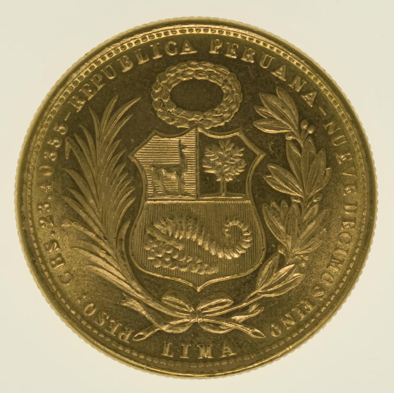 peru - Peru 50 Soles 1965