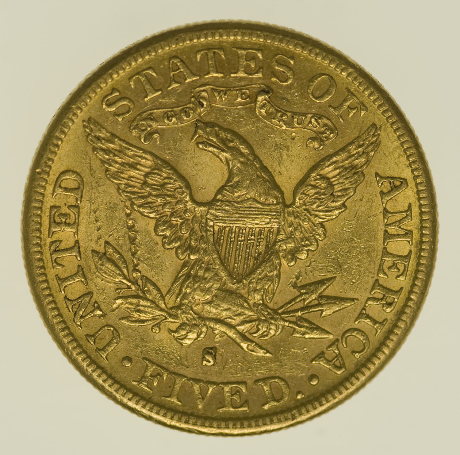 usa - USA 5 Dollars 1887 S Liberty / Kopf