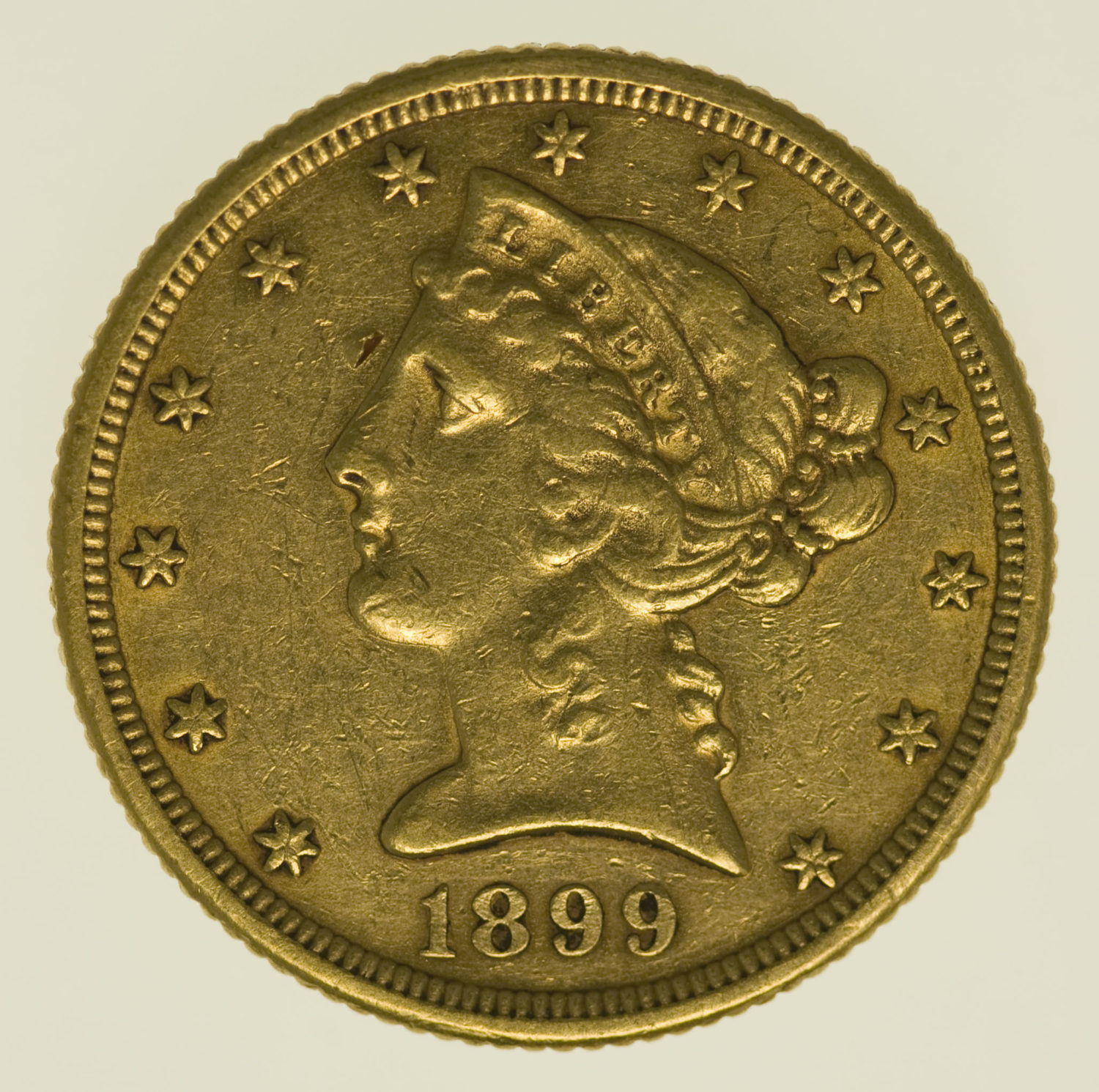 usa - USA 5 Dollars 1899 S Liberty / Kopf
