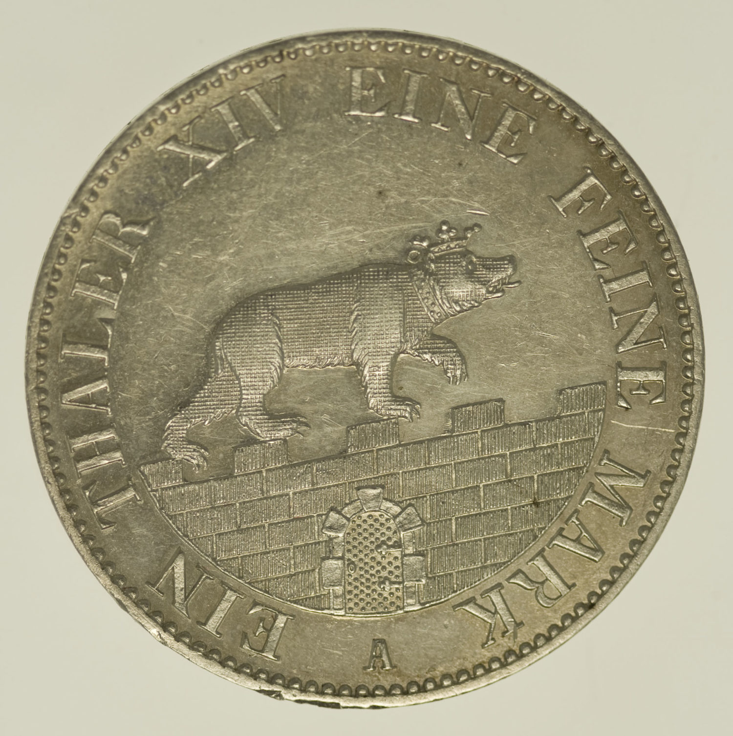 altdeutschland-deutsche-silbermuenzen - Anhalt Bernburg Carl Alexander Ausbeutetaler 1855