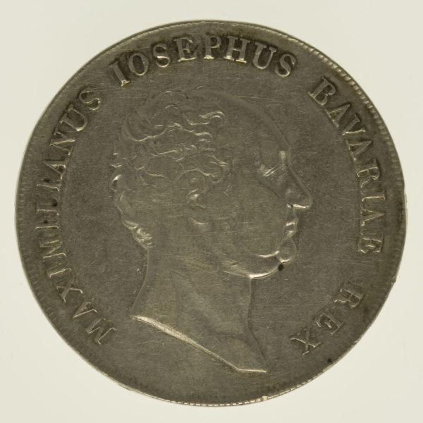 altdeutschland-deutsche-silbermuenzen - Bayern Maximilian I. Joseph Taler 1815