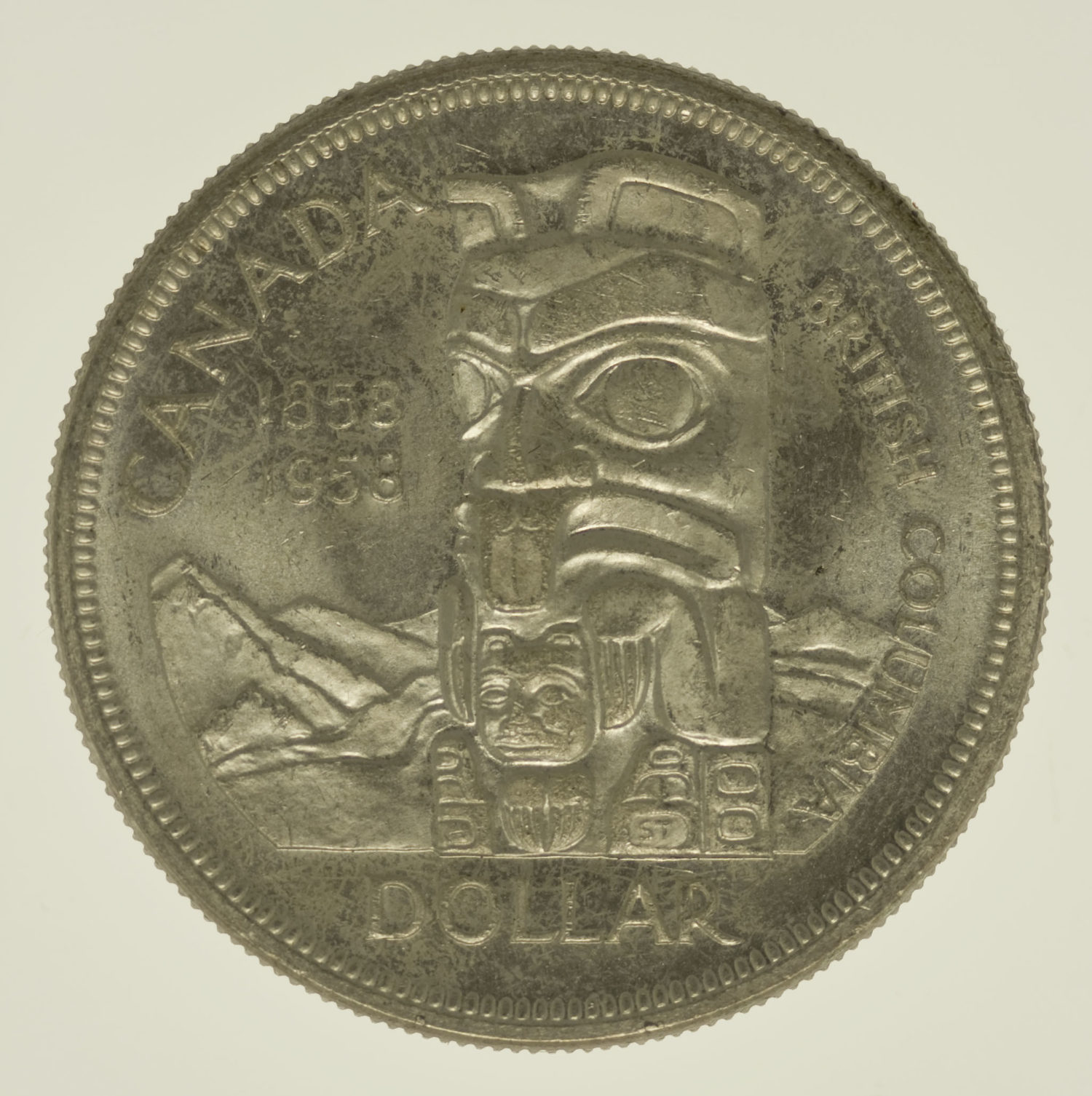 kanada-silbermuenzen-uebrige-welt - Kanada Elisabeth II. Dollar 1958 Lot