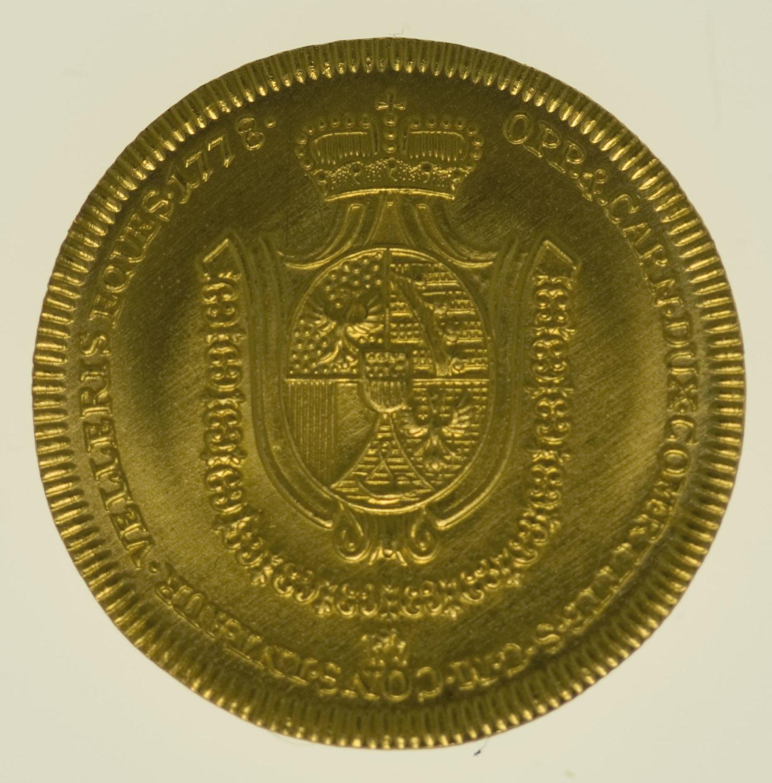 liechtenstein - Liechtenstein Franz Joseph I. Dukat 1778 NP