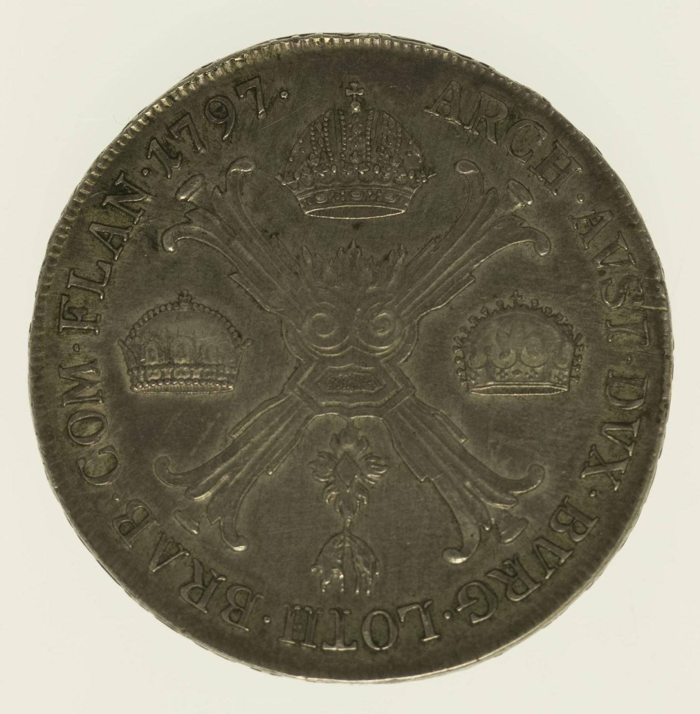 oesterreich-silbermuenzen-uebriges-europa - Österreich RDR Franz II. Kronentaler 1797 C