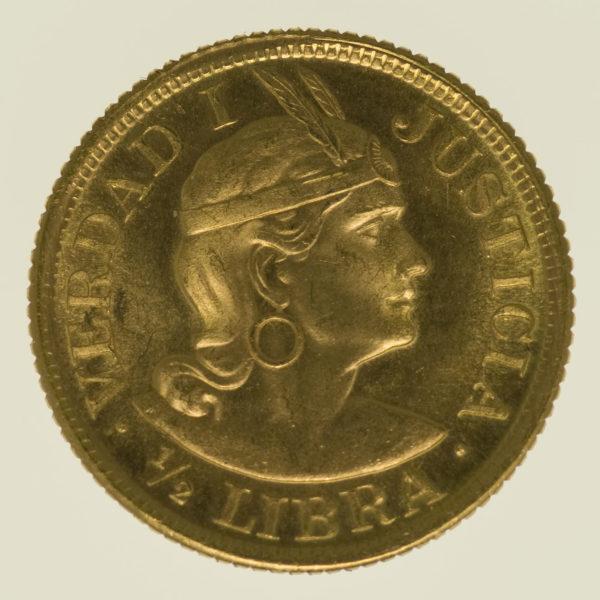 peru - Peru 1/2 Libra 1966