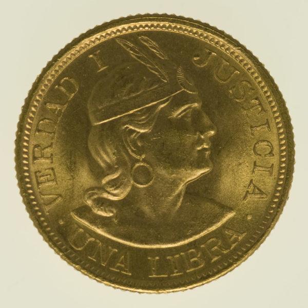 peru - Peru Libra 1966