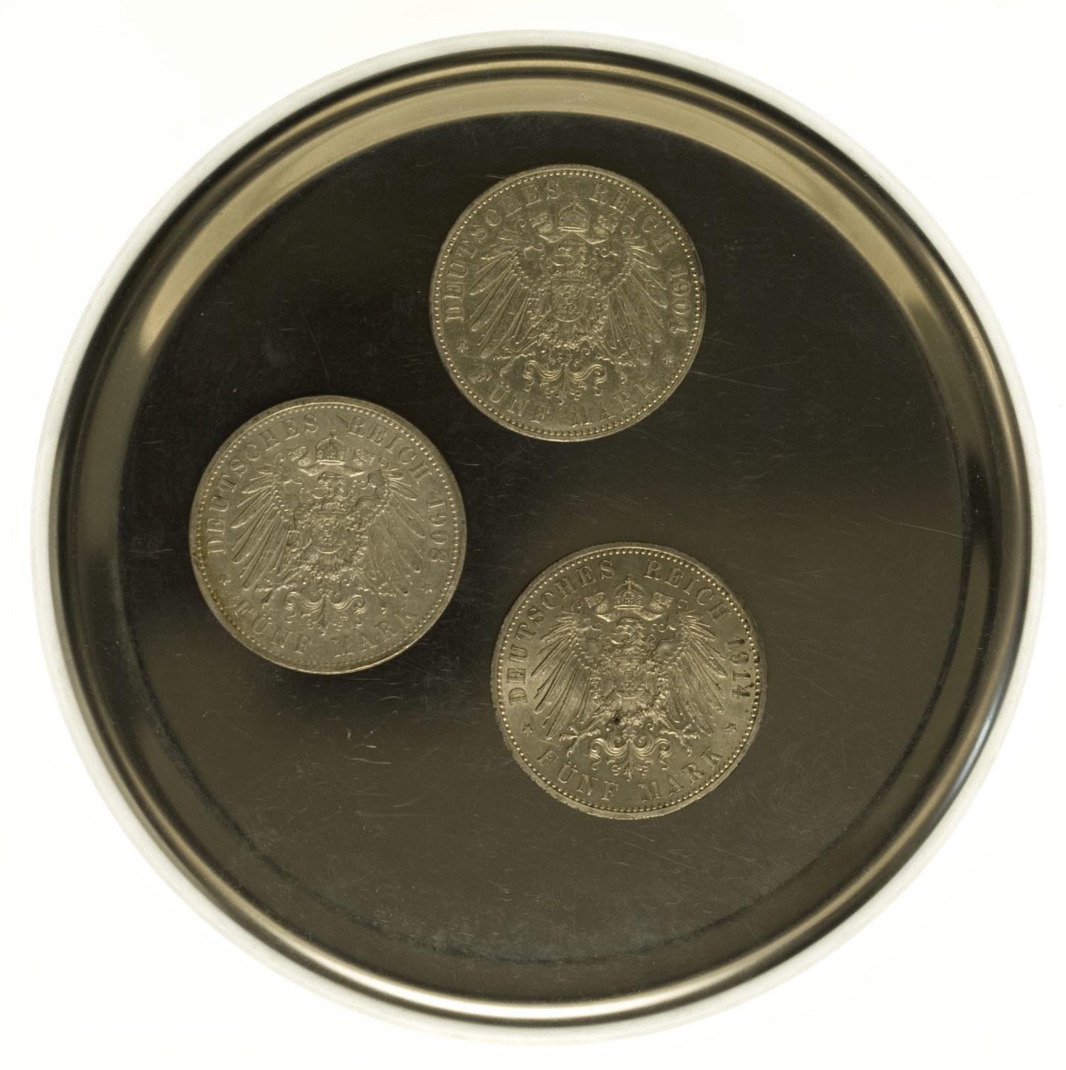 deutsches-kaiserreich-ab-1871-deutsche-silbermuenzen - Deutsches Kaiserreich Lot