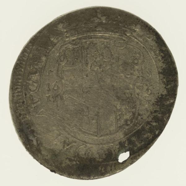 altdeutschland-deutsche-silbermuenzen - Solms Rödelheim Johann August 60 Kreuzer 1676