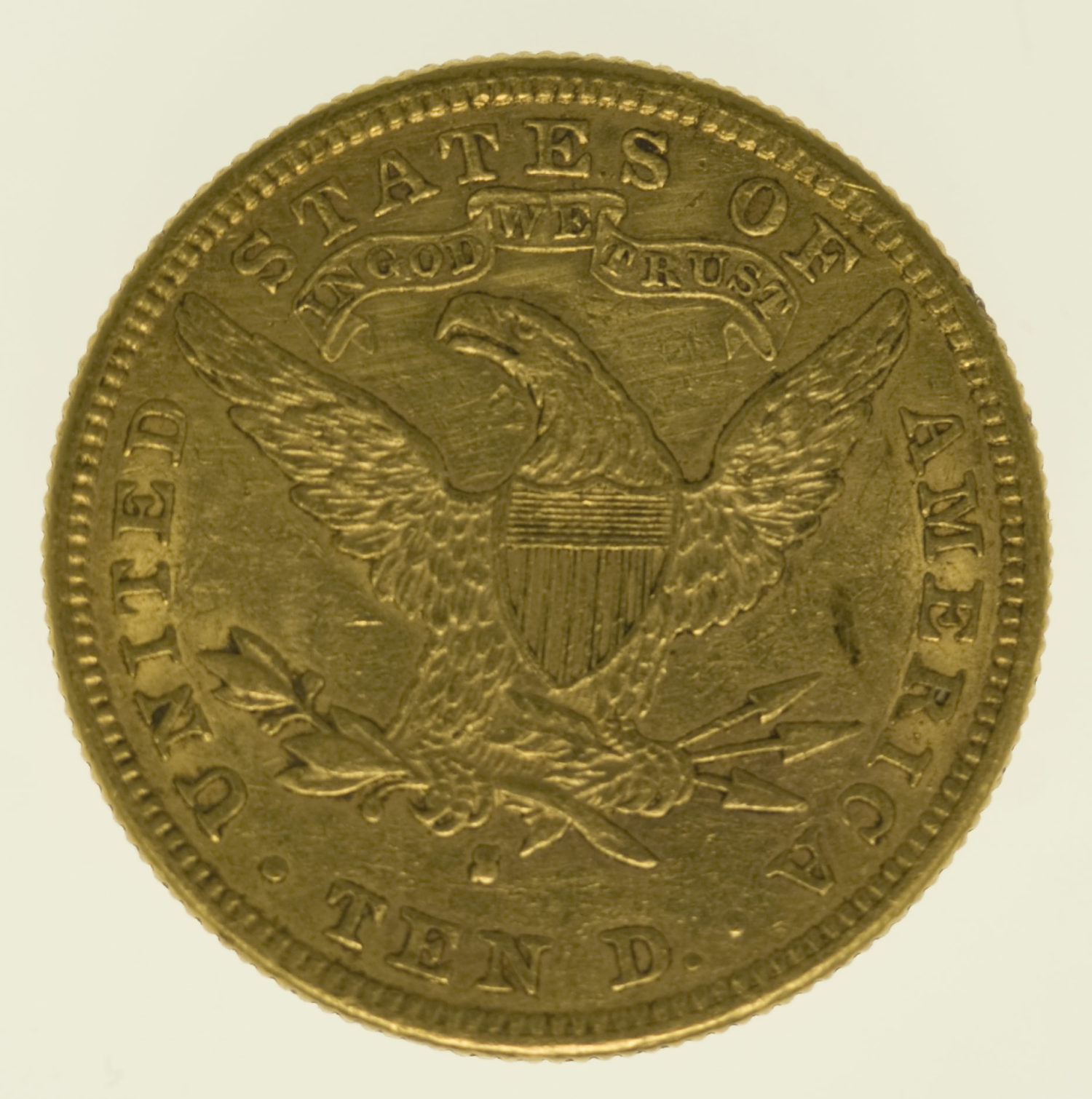 usa - USA 10 Dollars 1881 S Liberty / Kopf