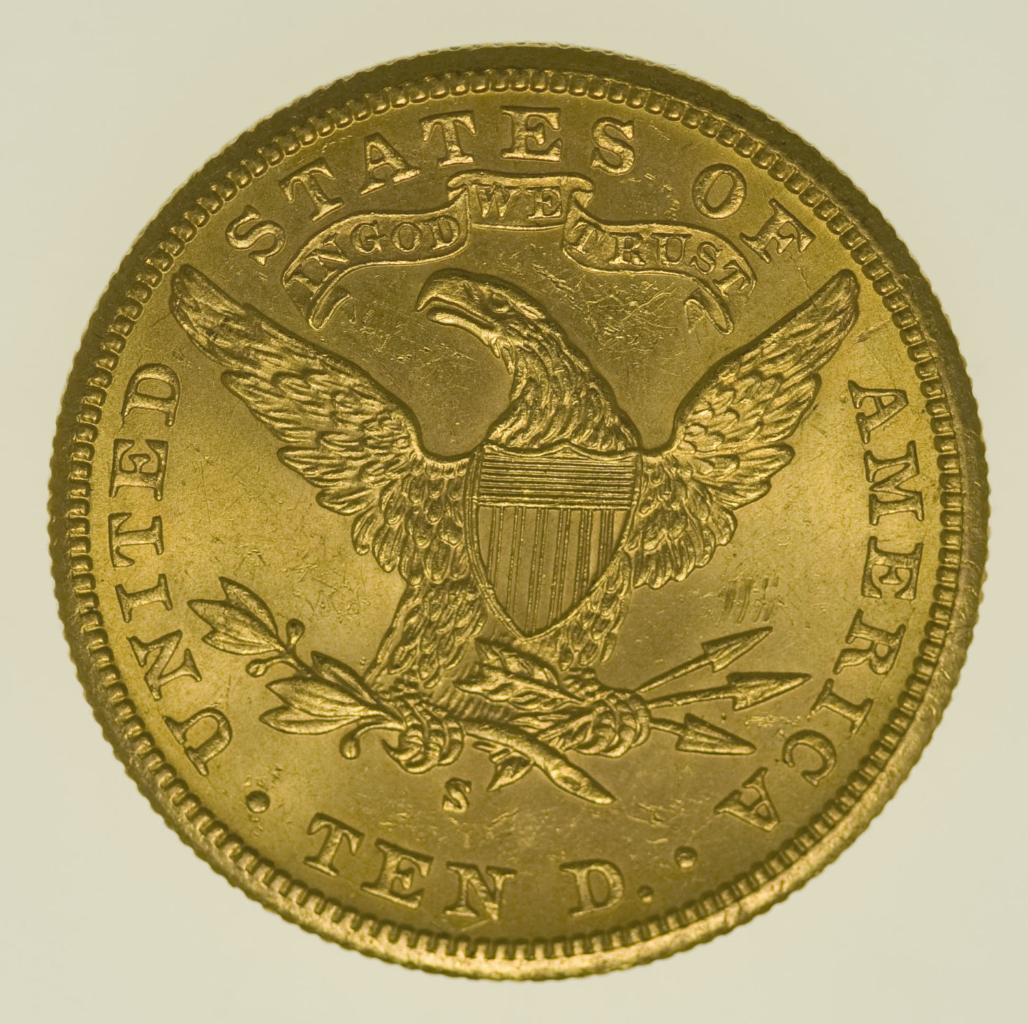 usa - USA 10 Dollars 1902 S Liberty / Kopf
