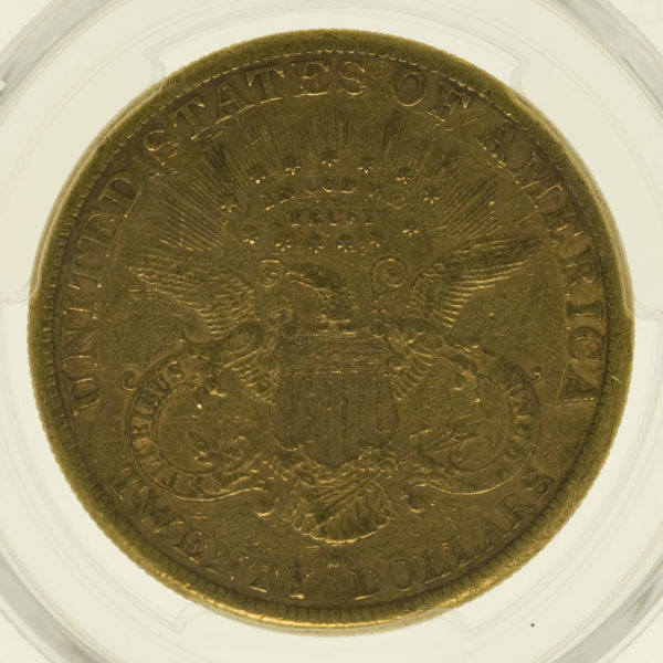 usa - USA 20 Dollars 1882 S Liberty / Kopf