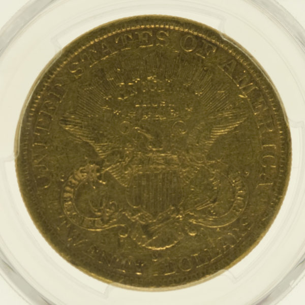 usa - USA 20 Dollars 1884 S Liberty / Kopf