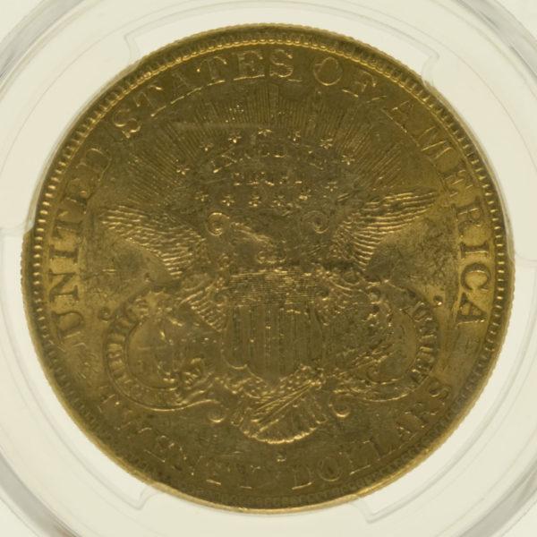 usa - USA 20 Dollars 1894 S Liberty / Kopf