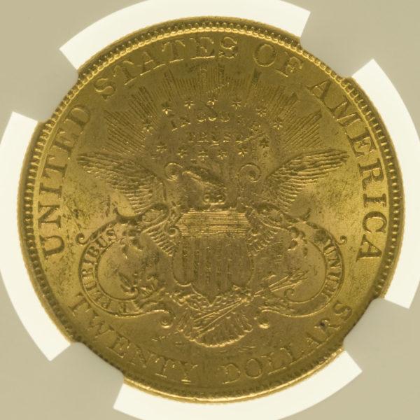 usa - USA 20 Dollars 1896 Liberty / Kopf