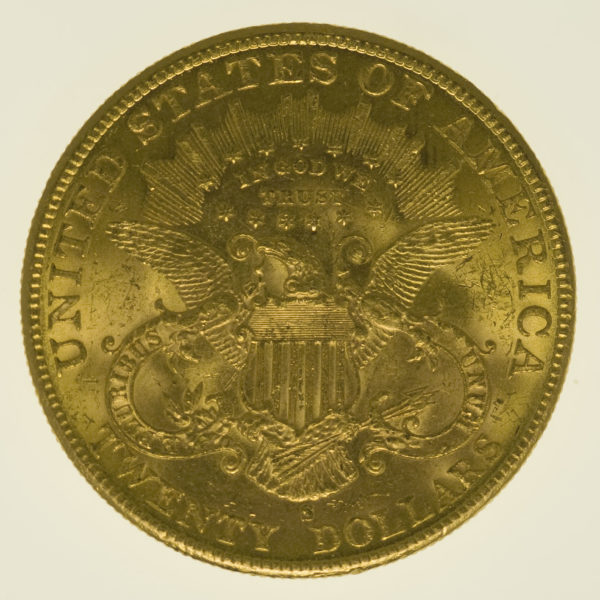 usa - USA 20 Dollars 1901 S Liberty / Kopf