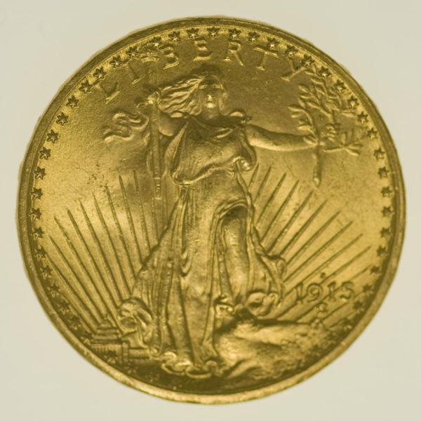 usa - USA 20 Dollars 1915 S Statue