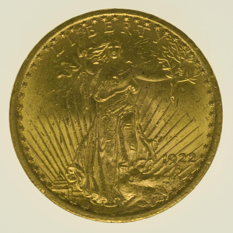 usa - USA 20 Dollars 1922 Statue